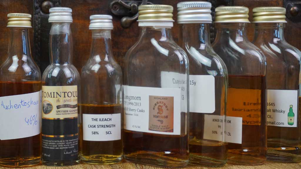 Whisky-Samples