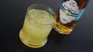 Chartreuse Swizzle Cocktail