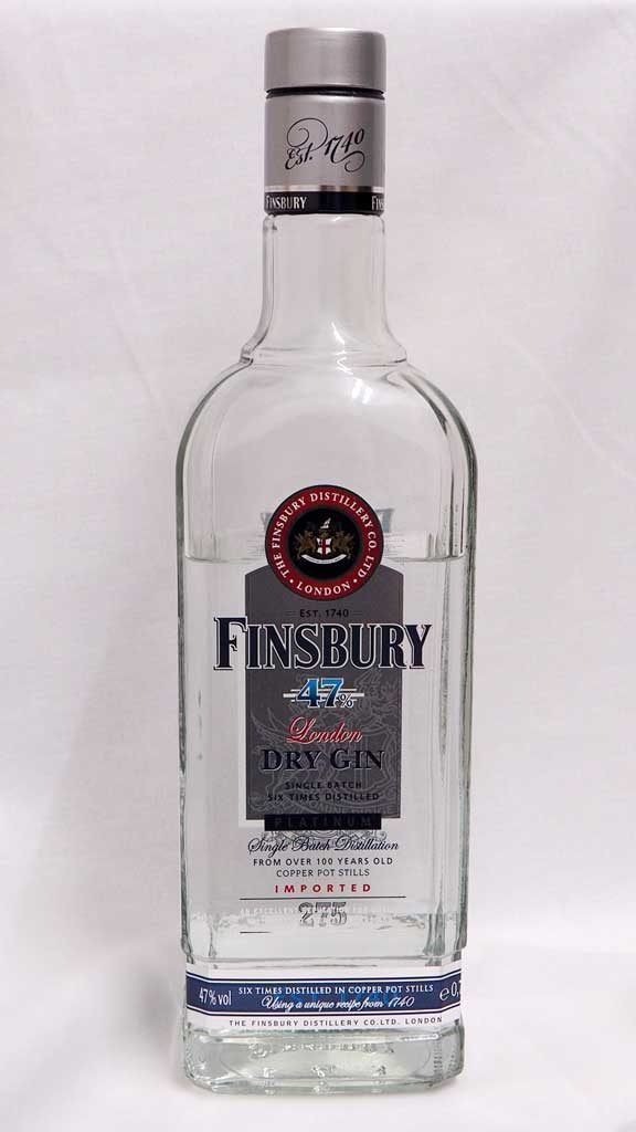Finsbury London Dry Gin Platinum