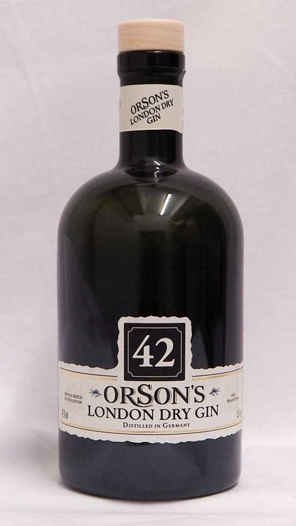 Orson's 42 London Dry Gin von Penny