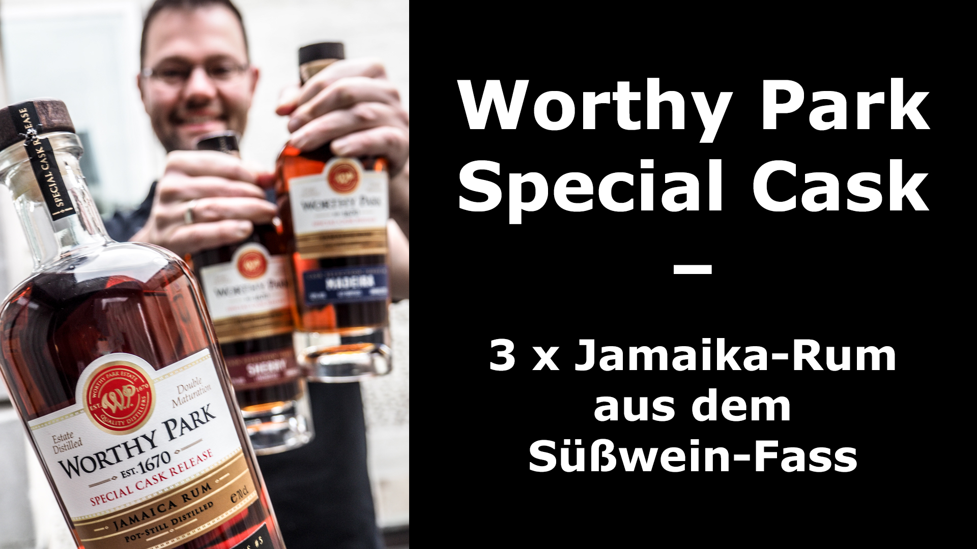 Rum-Tasting: Worthy Park Special Cask Sherry, Madeira & Port