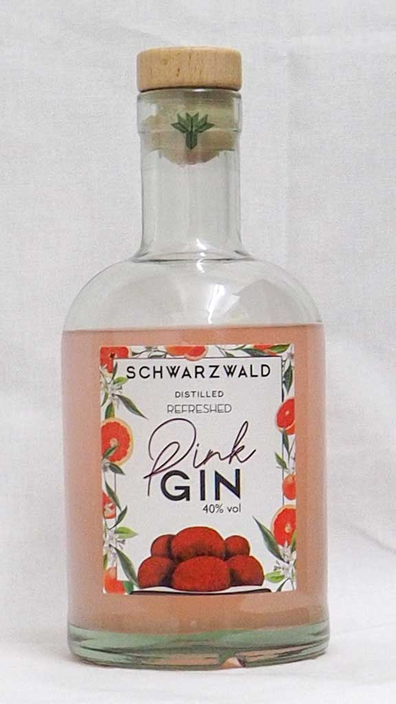 Schwarzwald Distilled Pink Gin Refreshed