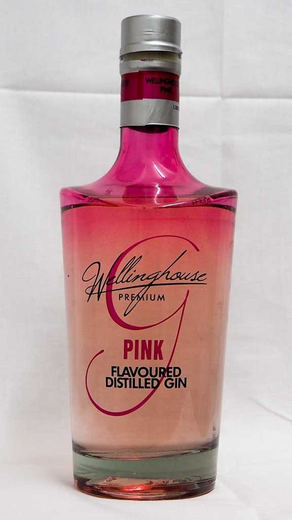 Wellington Pink Flavoured Distilled Gin