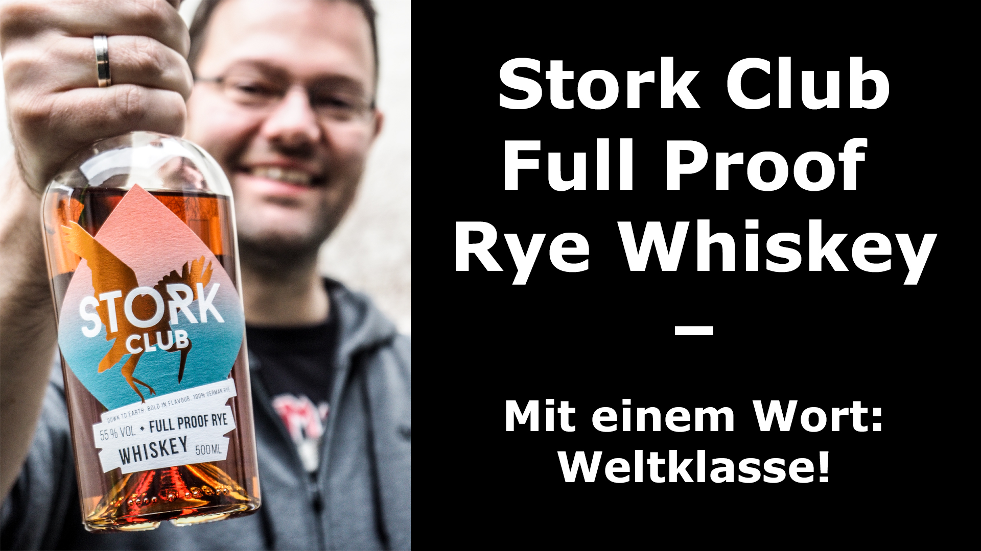 Whiskey-Tasting: Stork Club Full Proof Rye