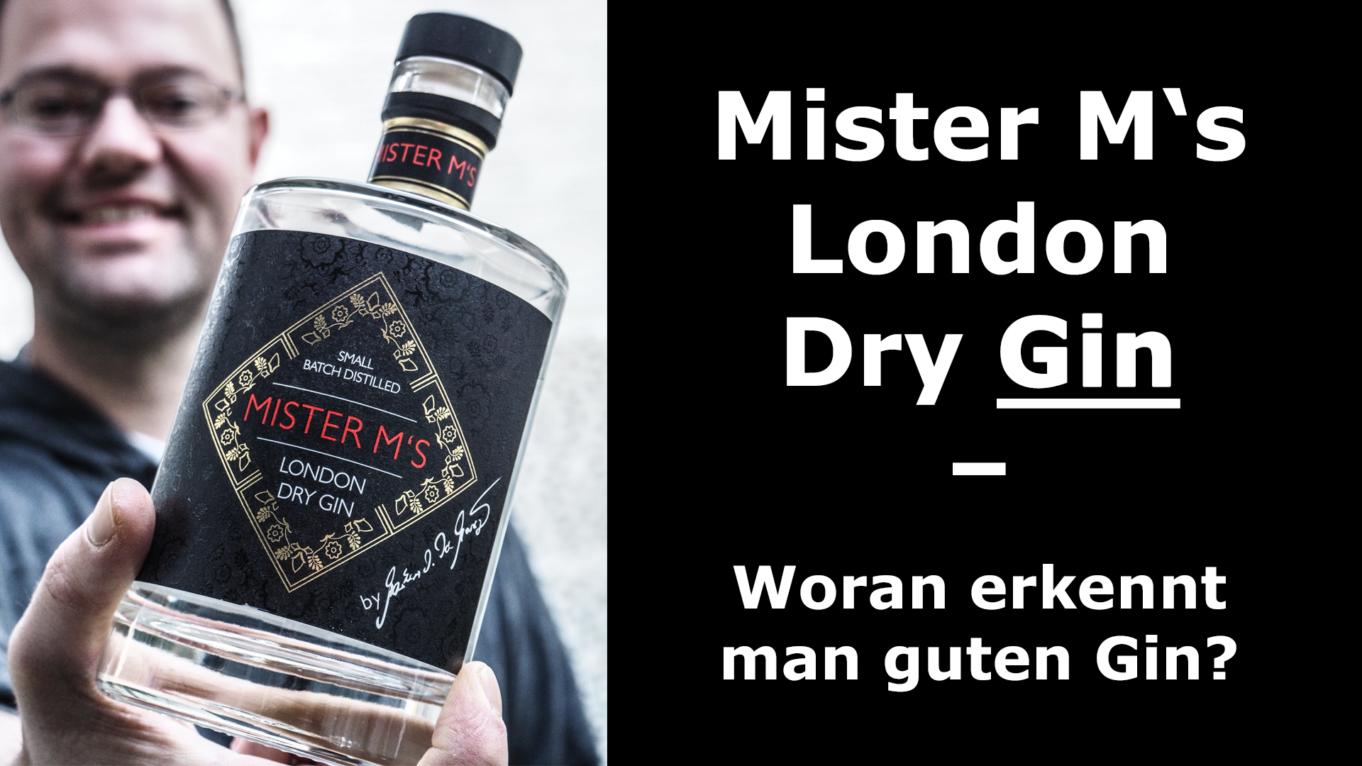Mister M's London Dry Gin
