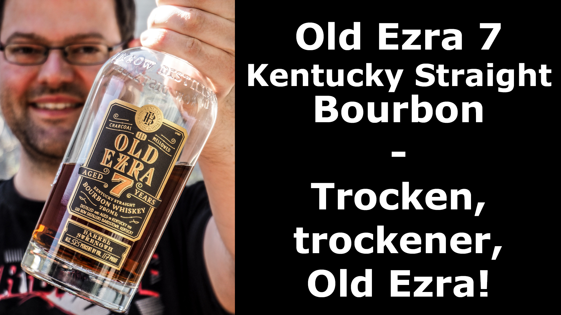 Whisky-Tasting: Old Ezra 7 Bourbon