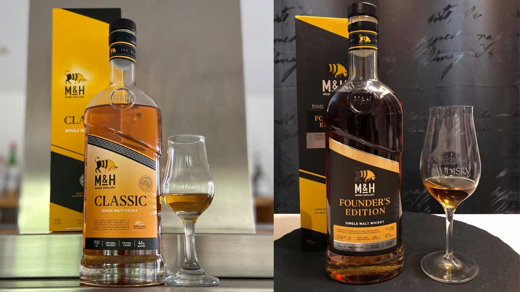 Whisky-Tasting: Milk & Honey Classic vs. Founder's Edition