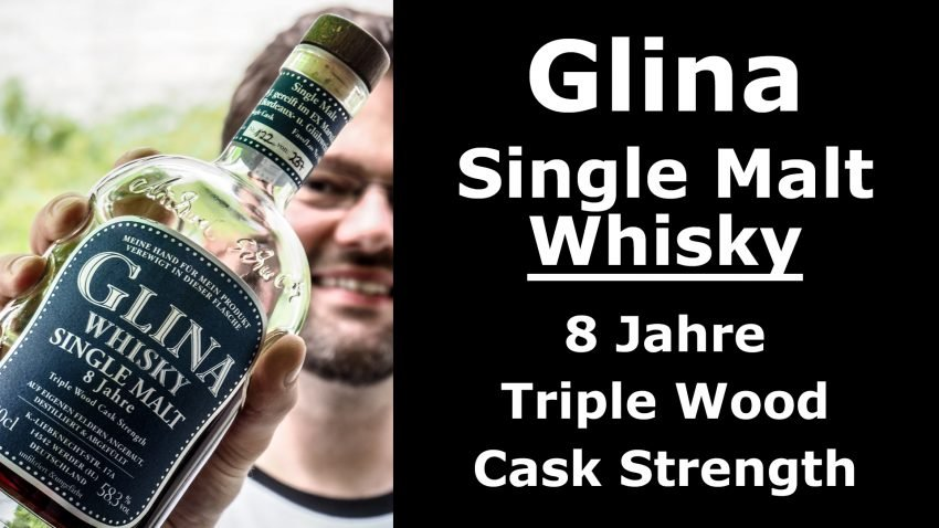 Whisky-Tasting: Glina Single Malt 8 Jahre Triple Wood