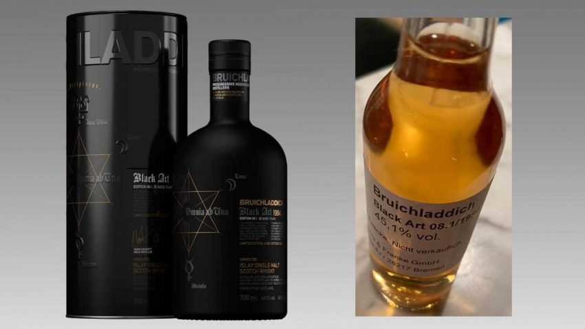 Whisky-Tasting Bruichladdich Black Art 8.01